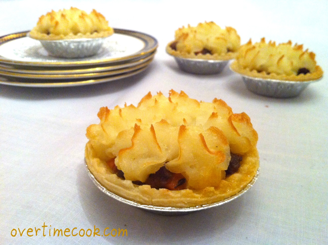 Mini Shepherd's Pies - Overtime Cook