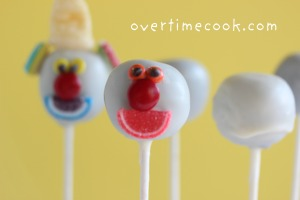 Clown Cake Pops Recipe