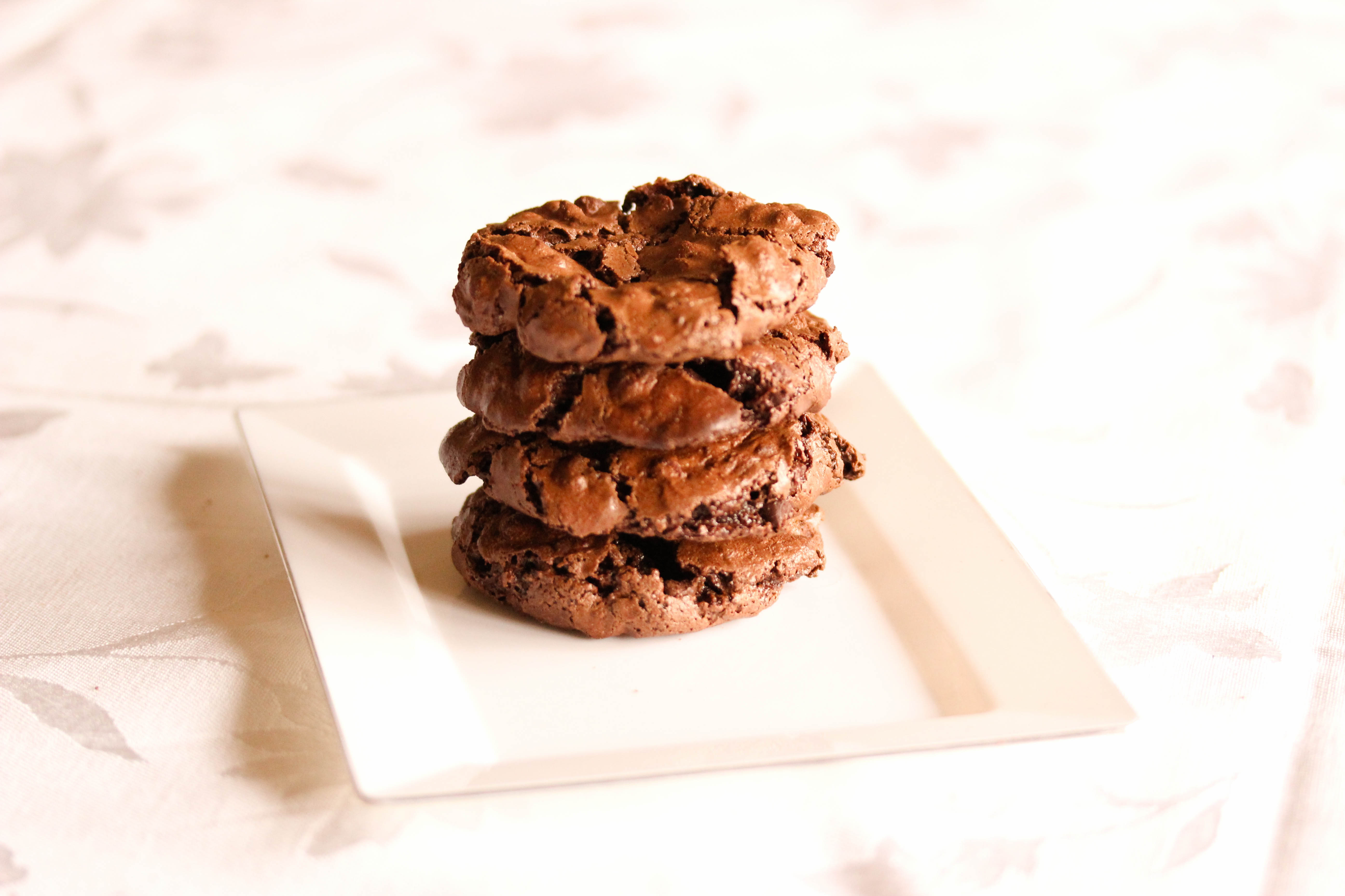 Flourless Chocolate Cookies - Overtime Cook