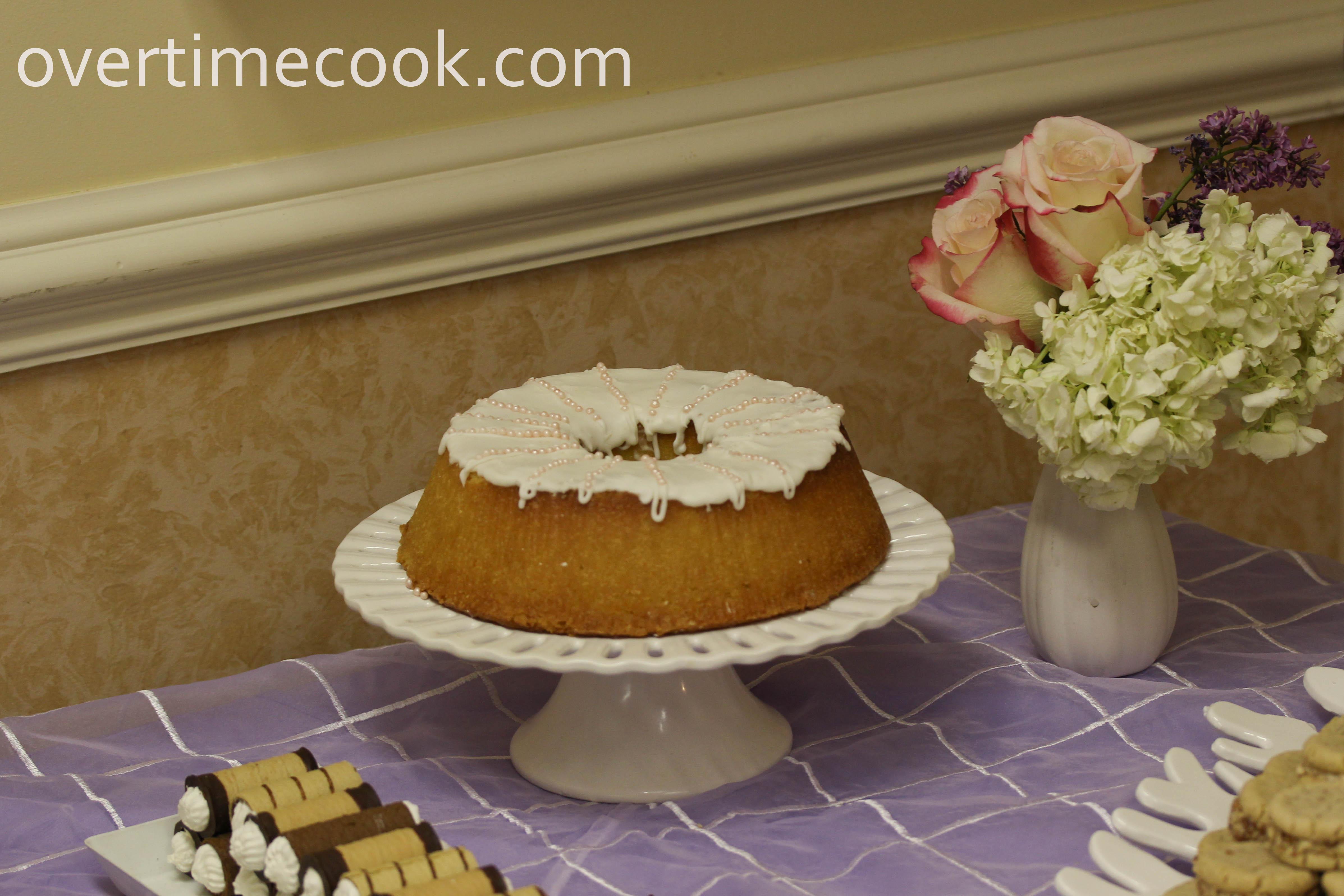 Vanilla Wafer Bundt Cake Recipe