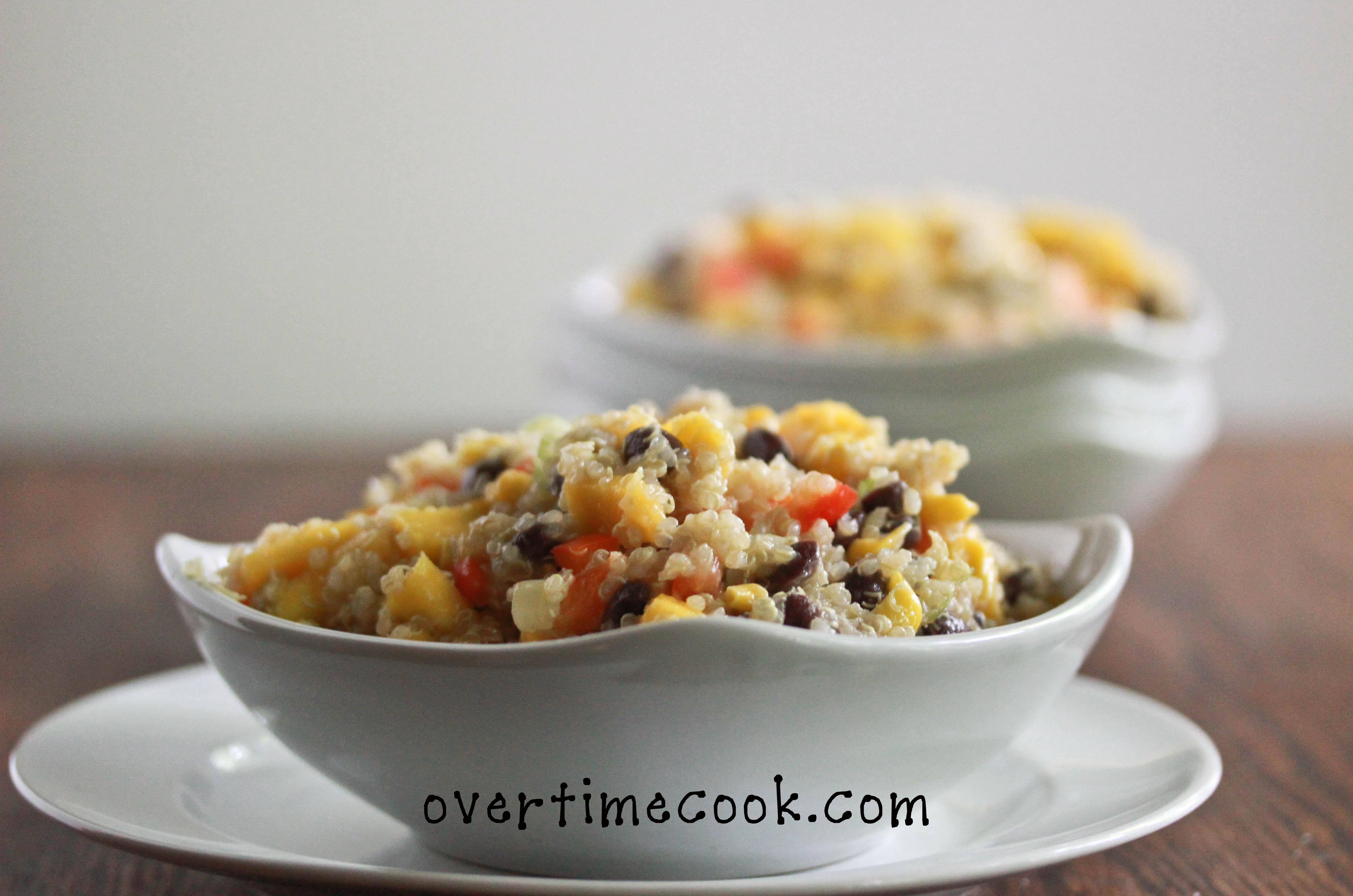 Corn And Black Bean Quinoa Salad Recipe — Dishmaps