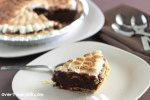 S'mores Cheesecake on Tales of an Overtime Cook
