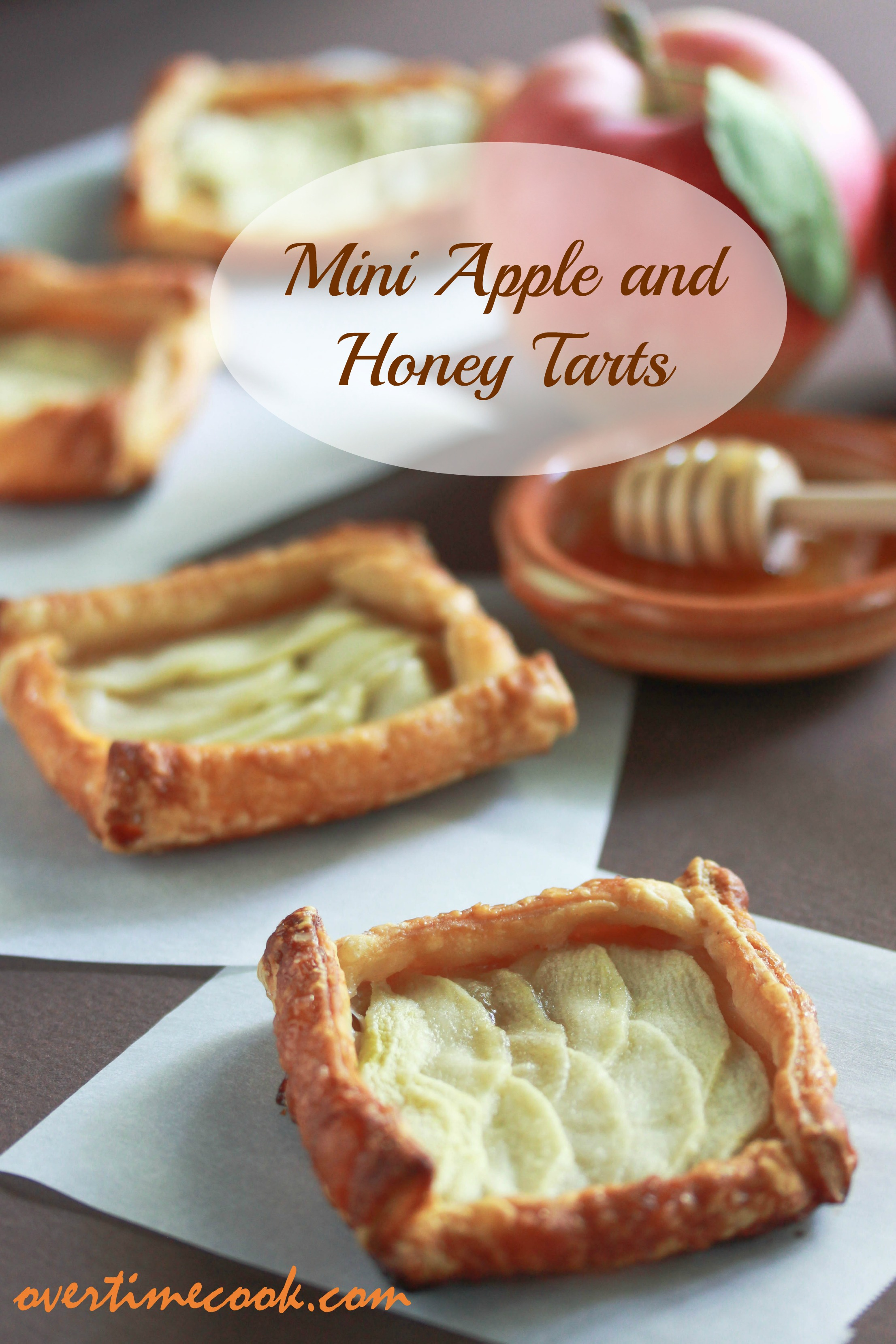 Mini Apple and Honey Tarts on Overtime Cook