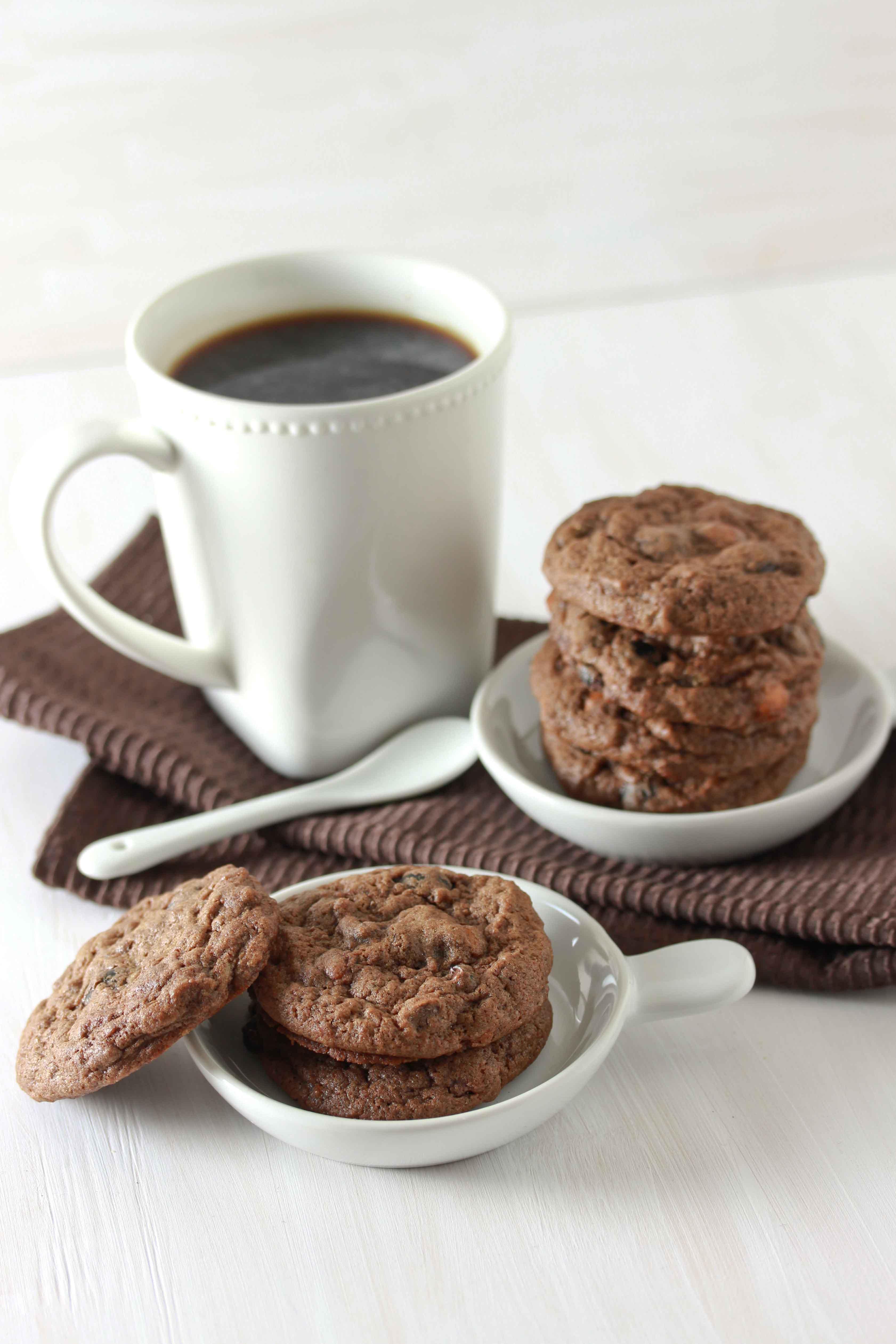 mocha cookies 2