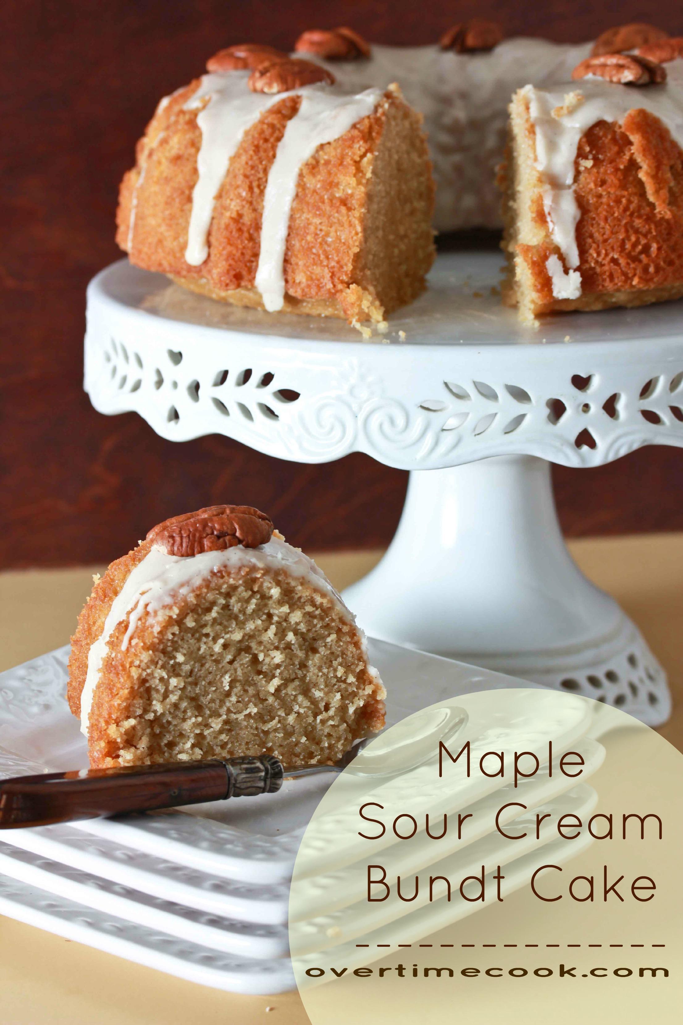 Maple Bundt Cake Food Network