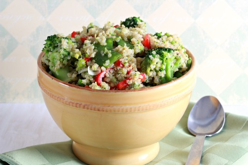 broccoli and quinoa salad