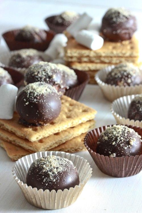 smore's truffles 2