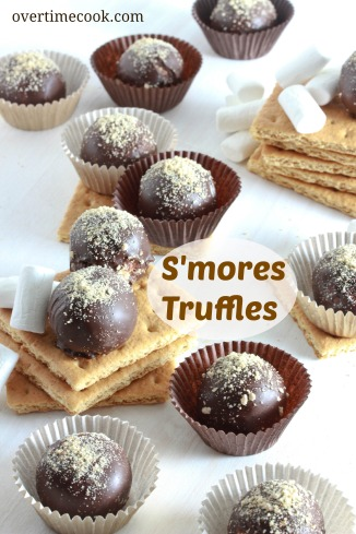 smore's truffles on overtimecook